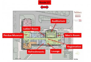Auditorium Map